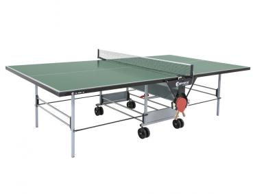 S 3-46e Sponeta Tischtennisplatte outdoor grün Abholung