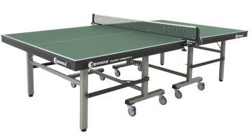 Sponeta Tischtennisplatte S 7-12 grün ITTF