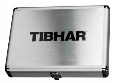 Tibhar Schlägerkoffer Alum Cube Exclusive / Silber